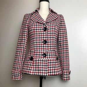 Houndstooth Peacoat in Small